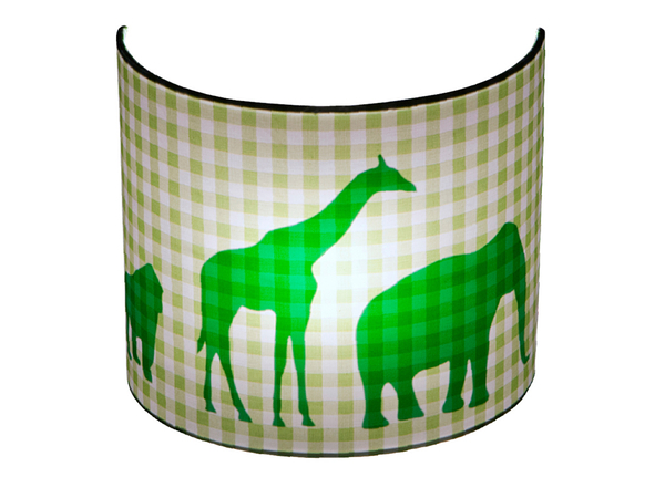 Kinderlamp Wandlamp Little Dutch Dierenparade Limegroen