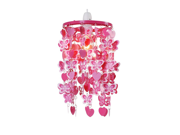 Roze Lamp In De Kinderkamer Pictures to pin on Pinterest