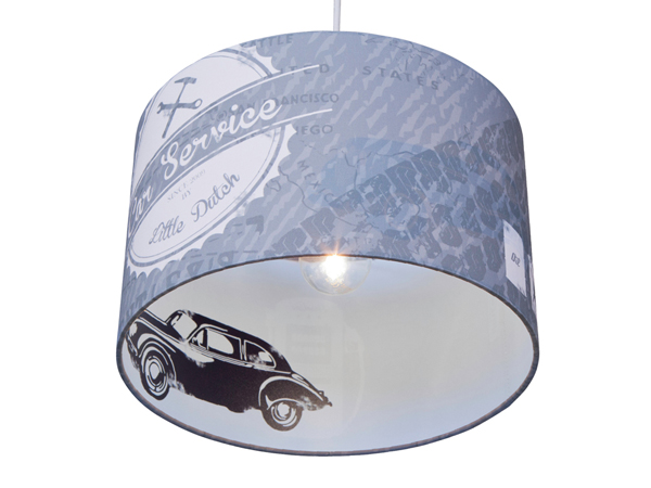 Kinderlamp-Little-Dutch-Silhouet-Auto-Grijs