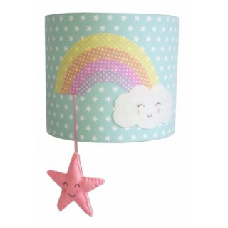 Kinderlamp Wandlamp Rainbow Cloud en Star