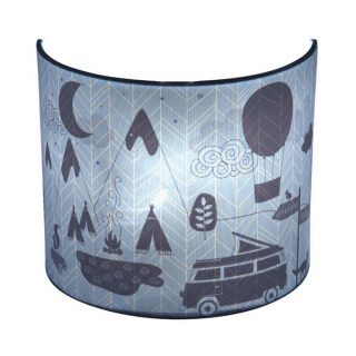 kinderlamp-wandlamp-little-dutch-silhouette-blue-leaves